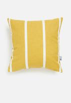Sixth Floor - Vert outdoor cushion cover - mustard