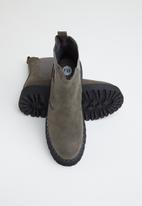 Footwork - Martiny chunky chelsea boot - grey
