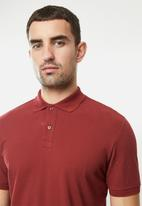 MANGO - Rea polo - red