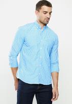 Ben Sherman - Med ging shirt - blue