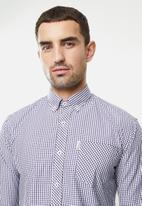 Ben Sherman - Med ging shirt - navy