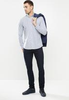 Ben Sherman - Small check shirt - purple
