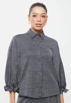 AMANDA LAIRD CHERRY - Hantams shirt - navy