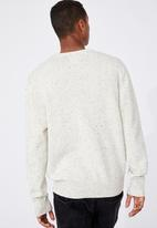 Cotton On - Crew knit - oatmeal nep