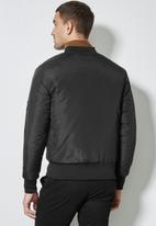 Superbalist - Nevada padded bomber jacket - black