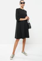 AMANDA LAIRD CHERRY - Marico dress - black