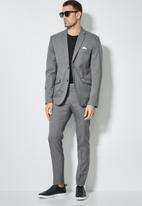 Superbalist - Soho slim fit blazer - light grey