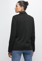 edit - Ponti blazer- black