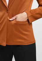edit - Ponti blazer - orange