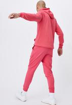 Cotton On - Trippy slim trackie - punk pink
