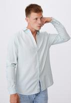 Cotton On - Fitzroy denim shirt - bondi blue