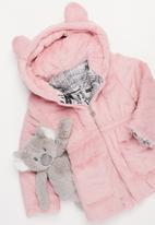 POP CANDY - Girls teddy coat - pink