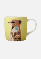 Maxwell & Williams - Wildlife mug - meerkat
