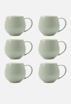 Maxwell & Williams - Tint snug mug - set of 6 mint