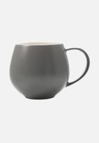 Maxwell & Williams - Tint snug mug - set of 6 charcoal