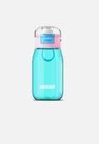Zoku - Kids flip gulp bottle - teal