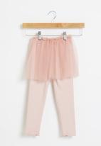 POP CANDY - Girls tutu with leggings - pink