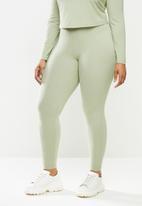 Blake - High waist leggings - light green