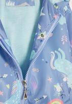 POP CANDY - Girls rainbow jacket - blue