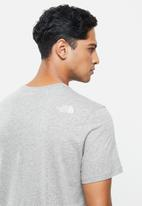 The North Face - Fine tee - grey
