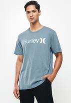 Hurley - Oao gradient 2.0 prem short sleeve - blue
