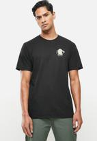 Hurley - Cre rest in paradise short sleeve - black
