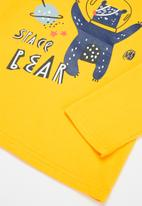POP CANDY - Long leeve printed tee - yellow