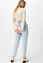 Cotton On - Jude bell sleeve long sleeve top - latte