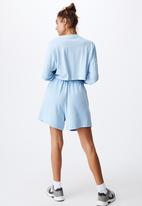 Cotton On - Kyle batwing long sleeve top - blue