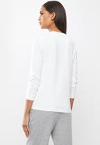 Lyle & Scott - Long sleeve T-shirt - white
