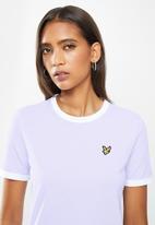 Lyle & Scott - Ringer T-shirt - purple