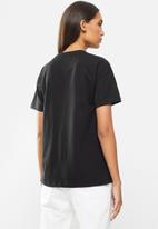 Lyle & Scott - Dot logo T-shirt - black