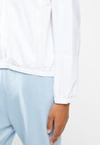 Lyle & Scott - Zip through jacket - white