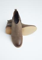 Miss Black - Clovis ankle boot - brown