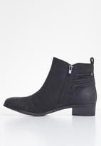 Miss Black - Clovis ankle boot - black