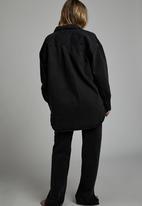 Cotton On - The denim shacket - midnight black
