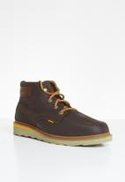 Caterpillar - Jackson mid leather - brown