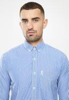 Ben Sherman - Med ging shirt - dark blue