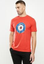 Ben Sherman - Drum target tee - red