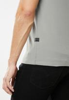 G-Star RAW - Slim base r short sleeve tee - grey