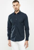 Replay - Replay poplin shirts - navy
