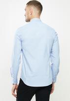 Replay - Replay poplin shirts - blue