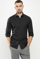 Replay - Replay poplin shirts - black