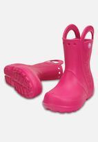 Crocs - Handle it kids rain boot - pink