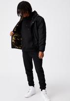 Factorie - Reversible sherpa ski jacket - multi