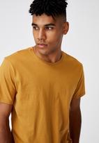 Factorie - Curved T-shirt - desert