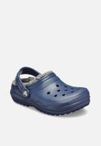 Crocs - Classic lined clog kids - navy