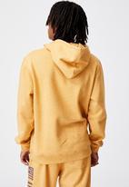 Factorie - Elite oversized hoodie - yellow