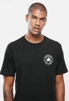 Converse - Chuck taylor patch short sleeve tee - black