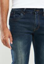 SOVIET - Martinez slim leg fashion denim - dark blue